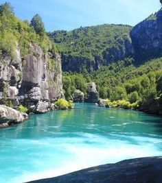 Futaleufú River, South Chile The Places Youll Go, Great Places, Places To See, Beautiful Places, Rafting, South America Travel, Outdoor Travel, The Great Outdoors, Scenery