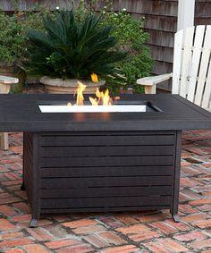 Love this Extruded Aluminum Rectangular Fire Pit on #zulily! #zulilyfinds