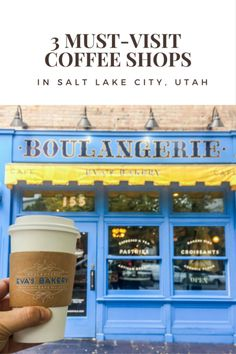 One of the first things I always do when visiting any new city is attempt to locate the best coffee shops. I was only in Salt Lake City for about 24 hours, but managed to find 3 amazing coffee shop…