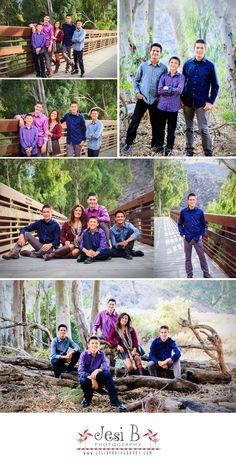 Great location for a family photo shoot This family really nailed their coordinating outfits without being too matchy Dressing boys is hard but I LOVE how she handled it. Fall Family Picture Outfits, Family Photo Colors, Summer Family Pictures, Large Family Photos, Family Picture Poses, Fall Family Photos, Large Family Photo Shoot Ideas Group Poses, Adult Family Photos, Family Pictures What To Wear