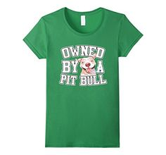 Women's Owned By A Pit Bull T-Shirt; Pit Lovers Small Gra... https://www.amazon.com/dp/B01I63HW2G/ref=cm_sw_r_pi_dp_3urGxbE2Q0NMA