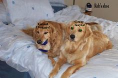 Riley and Kayla on bed...