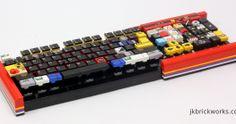Lego computer keyboard!