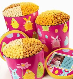 Love popcorn food pinterest popcorn and food easter friends popcorn tins negle Gallery