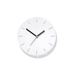 The Aperture clock features 12 lozenge shapes cut from its dial. It is Made in Britain from steel and has a powder coat finish.  The Silent quartz mechanism is made in Germany and takes 1 x AA battery which is included.
