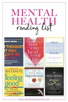 This reading lists includes 10 of the best mental health books for women with anxiety, depression, eating disorders, or other forms of mental illness. From understanding depression to the importance of self-love, these books can change your life by helpin Book Of Love, Self Love Books, Best Self Help Books, Best Books To Read, Good Books, Ya Books, Reading Lists, Book Lists, Understanding Depression