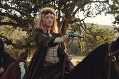 "In season two of HBO's ""Westworld,"" major characters like Dolores and Maeve have brand-new looks. Pay close attention to these costumes if you're in search of answers. Westworld Costume, Talulah Riley, Westworld Season, Fantasy Setting, Georgian, New Look, Tv Series, Halloween Costumes, Stage"