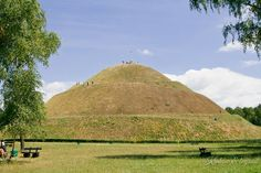 Pilsudski's Mound - a nice outdoor thing to do while in Krakow.