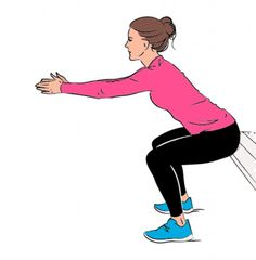 Personal trainer Nadya Fairweather says that this exercise helps target the pelvis, hips and spine