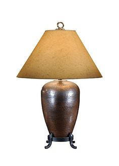 HAMMERED COPPER LAMP         http://www.wildwoodlamps.com/trade/dealer.php?value=view=1_id=27=All_id=_id=1559====8=21093_WIL.jpg