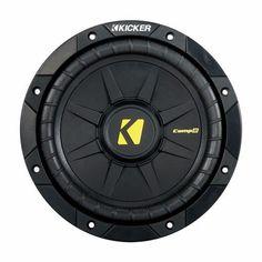 Kicker CompD 8 Inch 2 Ohm Subwoofer 40CWD82