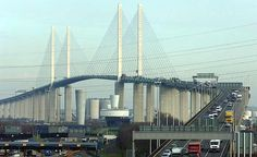 Lower Thames Crossing: more expensive Gravesend option.: Lower Thames Crossing: more expensive Gravesend option recommended… Rail Transport, New River, River Thames, France, British Isles, Elizabeth Ii, One In A Million, San Francisco Skyline, Poster Size Prints