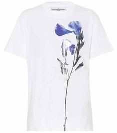 Floral-printed cotton T-shirt | Golden Goose Deluxe Brand