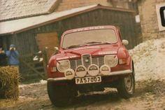 1971RAC Rally, Stig Blomquist and Anne Herz, 1st. Saab V4, #PA 57003