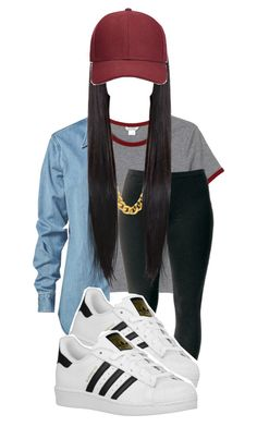 by eazybreezy305 on Polyvore featuring polyvore, fashion, style, Vale, Monki, Joe Browns, adidas Originals, Whistles, DOPE, Trendy, schoolstyle and 2015