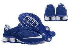 Nike Shox Turbo 21 KPU Men Shoes Sneakers Blue White