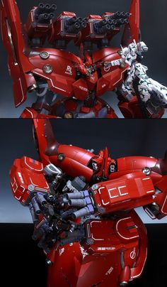 AMAZING HGUC NEO ZEONG + 2NT-D[3set]: Remodeled Works by G-trance. Photoreview + WIP. Full Hi Res Images!
