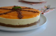 Şeftali Soslu Cheesecake Tarifi;  http://oktayustam.com/tarifler/32266-seftali_soslu_cheesecake_tarifi.html