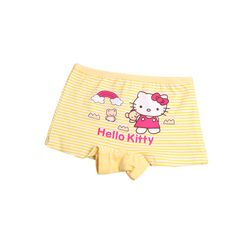 Buy one free one     Cartoon Children Underwear Girls Boys Kitty Cotton Kids Panties Underpants Shorts For 2-10 Y soft boxer