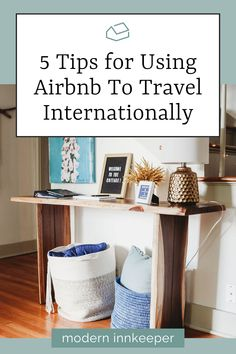 """Airbnb provides a solution to those needing the extra """"push"""" to travel internationally. While the service cannot accelerate your language learning capabilities, you can depend on the hosts and the listing offerings to help navigate your trip, plan your visits, and enhance your travel experience. #travel #airbnb #airbnbhost #rentalhome #rentalproperty #rentalhost"""