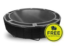 Bundle and Save! Everything you need for your complete In-Ground Trampoline Installation. INCLUDES:* 14' VPS TRAMPOLINE * 14' VENTED SAFETY PAD (GREY) * 14' TD