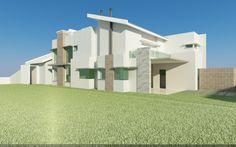Arquitetura - Engenharia Civil: Estudos volumétricos iniciais - 3D STUDIO MAX