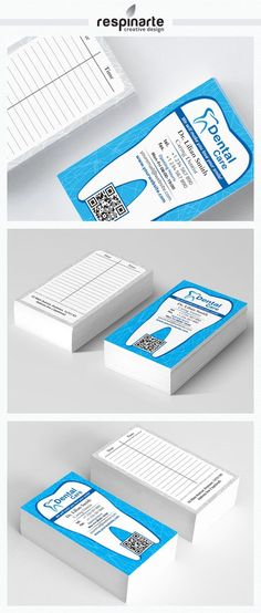 Dental Business Card RA2 by Respinarte