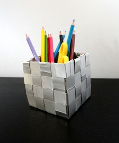 Confecciona lapiceros tetrabrick