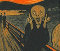 128 best art parody the scream images the scream