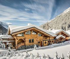 Notre chalet dans les Alpes !