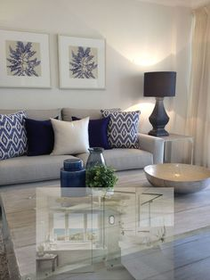 30 elegant living room color schemes ideas home decor ideas room idea Elegant Living Room, Coastal Living Rooms, Living Room Grey, Home Living Room, Interior Design Living Room, Living Room Designs, Living Room Decor Colors Grey, Living Room Ideas With Grey Walls, Navy Blue And Grey Living Room