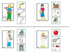 Preschool Jobs, Preschool Number Worksheets, Senses Preschool, Community Helpers Preschool, Phonics Worksheets, Free Preschool, Teacch Material, Childhood Education, Kids Education