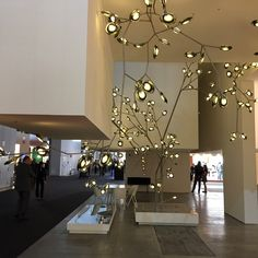 nerve-like lighting by Bocci at the Euroluce in Milan