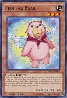 Yu-Gi-Oh! - Fluffal Bear (NECH-EN016) - The New Challengers - Unlimited Edition - Common