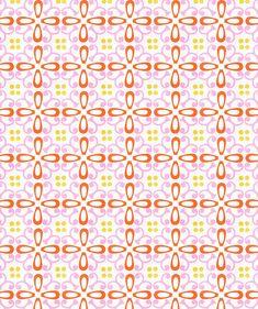 "Cozz Lifestyle ""Amaly"" 23252 Oranje/roze/groen - Colour collectie - Papier behang - Behang Cozz Lifestyle"
