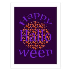Happy Halloween 2 Halloween 2, Special Characters, Lower Case Letters, Fine Art Paper, New Art, My Design, Fine Art Prints, Lettering, Decoration