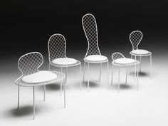 Sedia in rete metallica FAMILY CHAIRS Collezione Family by Living Divani | design Junya Ishigami