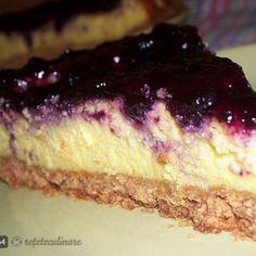 Cheesecake cu Ricotta si Mascarpone Ricotta, Cheesecake, Biscuit, Desserts, Food, Mascarpone, Tailgate Desserts, Deserts, Cheese Cakes
