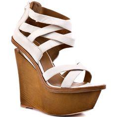 9b5fa1b73c83 L.A.M.B. Midori - White Leather  lt 3 Wedge Boots