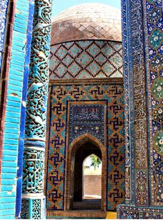 Samarkand is perhaps the most famous city of modern Uzbekistan.  The city centre is a UNESCO World Heritage Site since 2001.