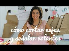 Cómo cortar nejas y señalar volantes- Tutorial - YouTube 1920s Inspired Makeup, Couture, Makeup Inspiration, Sewing Projects, T Shirts For Women, Pattern, Corset, Fashion, Templates