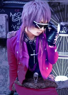 Visual Kei fashion always benefits from a pair of crazy coloured contact lenses!  http://www.beautifeye.co.uk/crazy-coloured-contact-lenses/