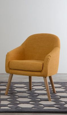 We love the gently sloped back and soft curves Chloe has to offer, not to mention the sleek angled ash legs. What else would you expect when it's designed by our very own MADE Studio.