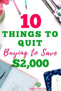 Start saving money today with these money saving hacks! Stop buying these things in 2019 and save thousands every month. These money saving tips will help you stick to your budget and pay off debt. Saving Money Quotes, Money Saving Challenge, Money Saving Tips, Money Tips, Managing Money, Planning Budget, Financial Planning, Meal Planning, Cash Envelope System