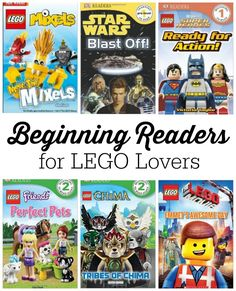 10+ LEGO books for Beginning Readers. Busy Kids Happy Mom