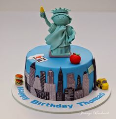 new york cake bakeoftheweek cake birthday cakes and. Black Bedroom Furniture Sets. Home Design Ideas