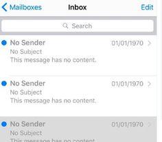 Neuer 1970-Bug: Diesmal gibt es Emails aus der Vergangenheit - https://apfeleimer.de/2016/03/neuer-1970-bug-diesmal-gibt-es-emails-aus-der-vergangenheit?utm_source=PN&utm_medium=PINIT&utm_campaign=Neuer+1970-Bug%3A+Diesmal+gibt+es+Emails+aus+der+Vergangenheit - Das Jahr 1970 scheint für Apple ein ganz Besonderes zu sein. Nach dem 1970-Bug, der Eure iOS-Gerätschaften komplett außer Kraft setzte, berichtet nun eine ganze Reihe User bei Twitter von erhaltenen Emails – Absen