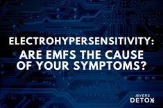 Electrohypersensitivity: Are EMFs the cause of your symptoms? - Myersdetox.com Neurological System, Heavy Metal Detox, Internet Router, Cell Membrane, Emotional Stress, Oxidative Stress, Cortisol, How To Protect Yourself