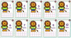 Excelente material los botones del león para aprender a contar en preescolar y primer grado de primaria   Material Educativo