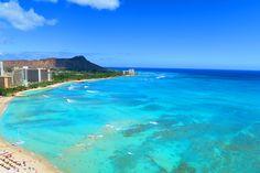 ハワイ 海 ダイヤモンドヘッド シェラトンワイキキ ワイキキビーチ